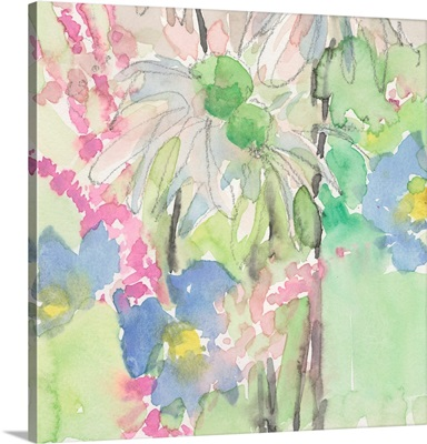 Watercolor Floral Accent I