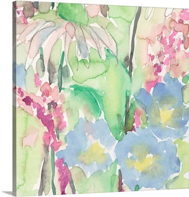 Watercolor Floral Accent II