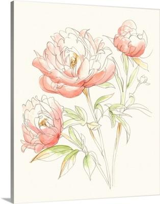 Watercolor Floral Variety III