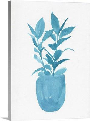 Watercolor House Plant III