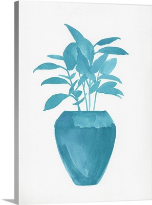 Watercolor House Plant V