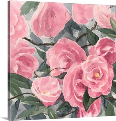 Watercolor Roses I