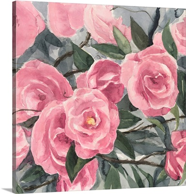 Watercolor Roses II