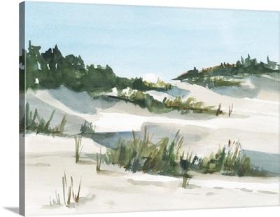 Watercolor Sand Dunes I