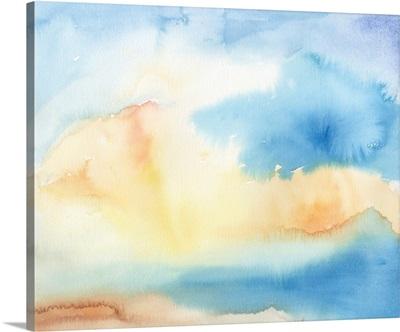 Watercolor Sky I