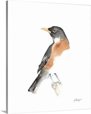 Watercolor Songbirds IV