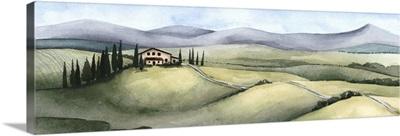 Watercolor Tuscany III