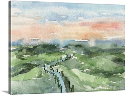 Watercolor Views V
