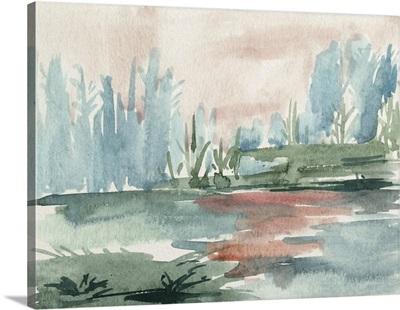 Watercolor Views VI