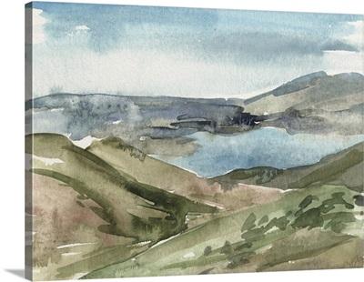 Watercolor Views VIII