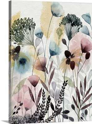 Watercolor Wildflower II