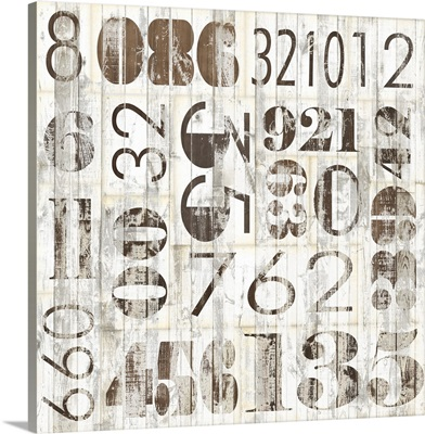 Weathered Numbers I