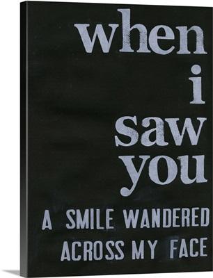 When I Saw You... II