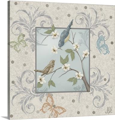 Whimsical Birds I