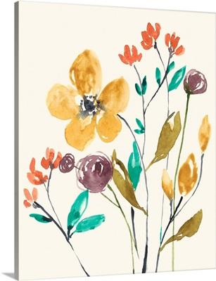 Whimsy Flowers I