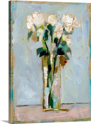 White Floral Arrangement II