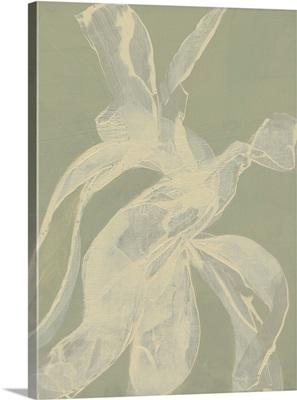 White Ribbon On Celadon I