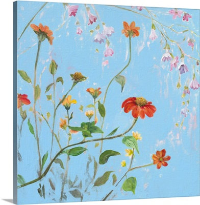 Wild Flowers on Cerulean IV