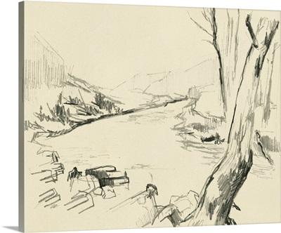 Winding Brook Sketch I