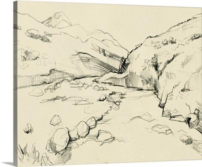 Winding Brook Sketch II