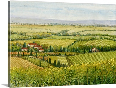 Wine Country View I