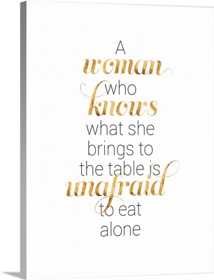 Women Who Know I