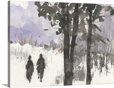 Woodland Sketch I