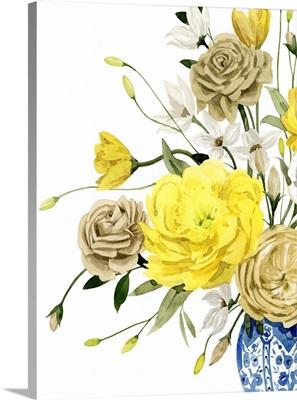 Yellow And Ultramarine Bouquet I