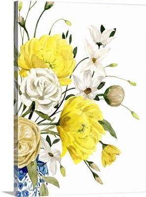 Yellow And Ultramarine Bouquet II