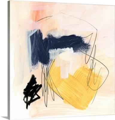 Yellow Ochre Splotch II