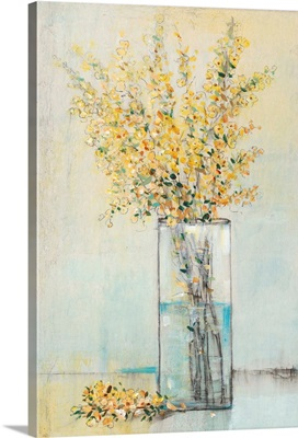 Yellow Spray in Vase I
