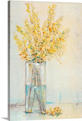 Yellow Spray in Vase II