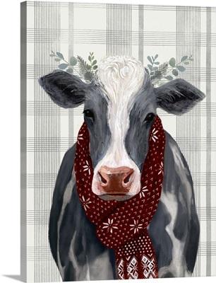 Yuletide Cow II
