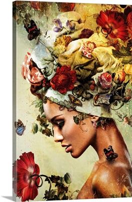 Flower Woman 4