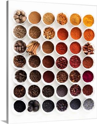 Spice Gradient Brown To Purple