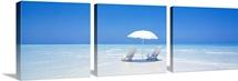 Beach Parasol & Chairs Maldives