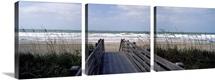 Boardwalk on the beach, Nokomis, Sarasota County, Florida,