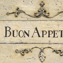 Buon Appetito Plaque