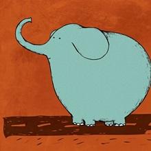 Skateboard Elephant
