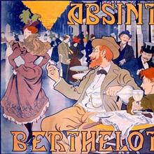 Absinthe Berthelot, Vintage Poster, by Thiriet