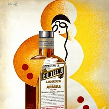 Cointreau, Vintage Poster, by Charles Loupot