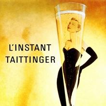LInstant Taittinger, Vintage Poster