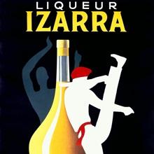 Liqueur Izarra, Vintage Poster, by Paul Colin