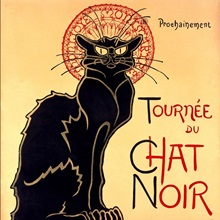 Tournee du Chat Noir,Vintage Poster, by Theophile Alexandre Steinlen