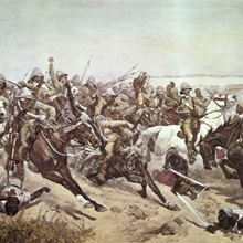 Charge of the 21st Lancers at Omdurman, 2nd September 1898