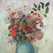 Flowers in a Turquoise Vase, c.1912