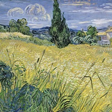 Landscape with Green Corn, 1889