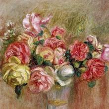Roses in a Sevres vase