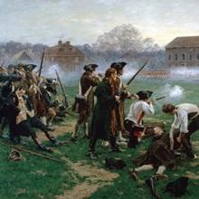 The Battle of Lexington, 19th April 1775, 1910