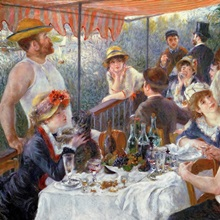The Luncheon of the Boating Party, 1881